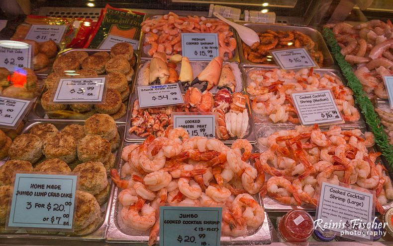 Shrimps, lobsters and other goodies