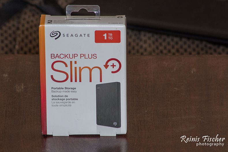 Seagate 1TB Portable External Hard Disk