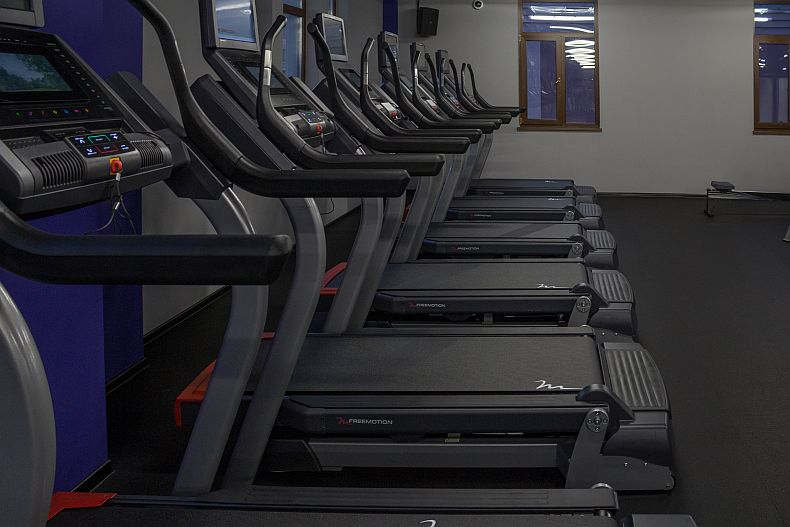 Treadmills at Champions Academy