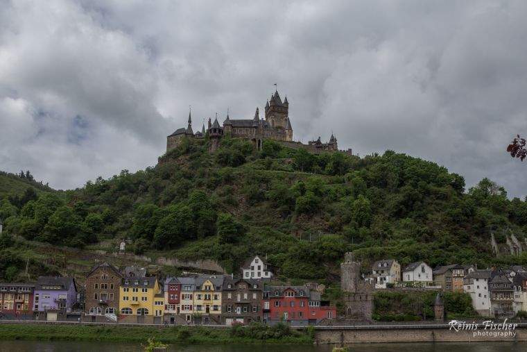 Cochem Castle in Gemrany
