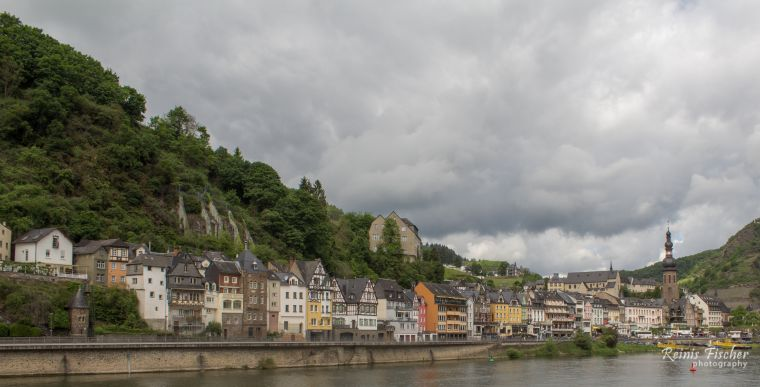 The Mossel Valley near Cochem in Germany