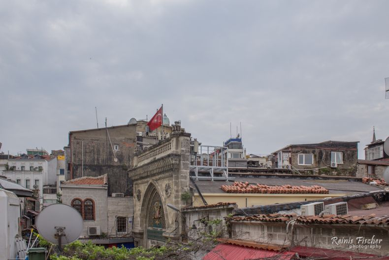 Rooftops of the Grand Bazaar in Istanbul