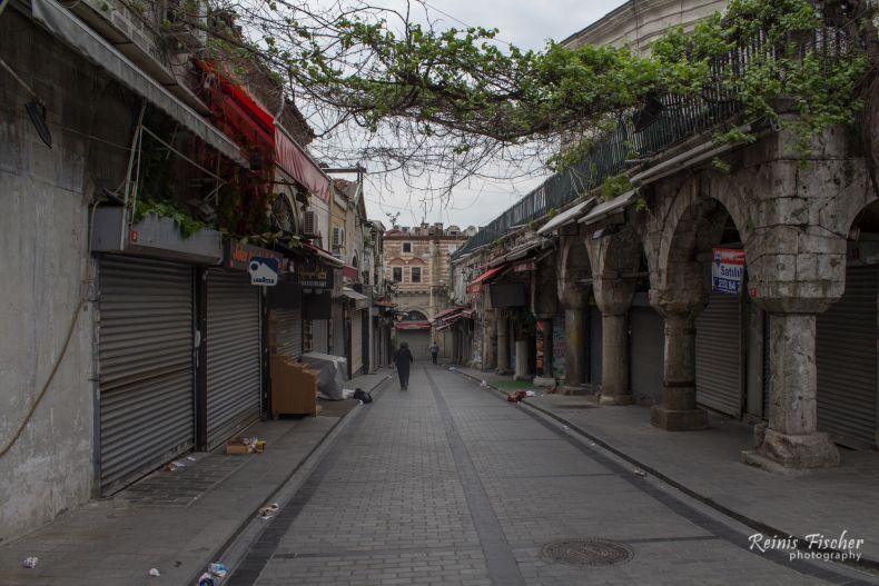 Nearby streets at Grand Bazaar Istanbul