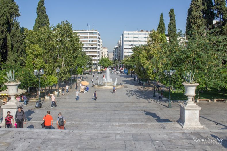 Square in Athens