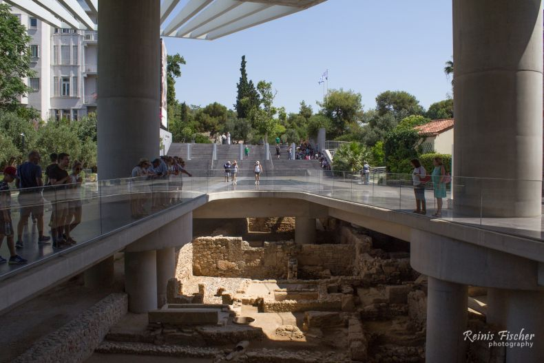 Archaeological excavations in Athens