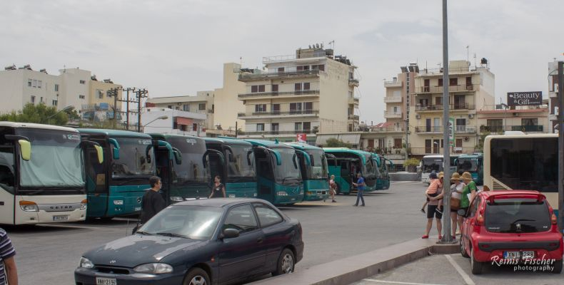 Chania Bus station