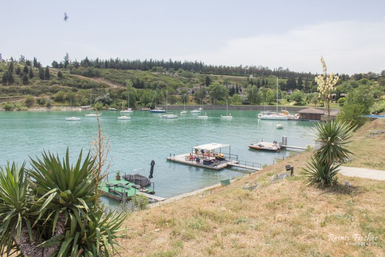 A little harbour at Tbilisi sea club