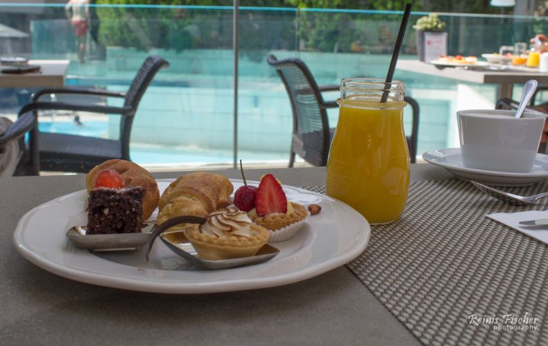 Breakfast at Galaxy Iraklio Hotel