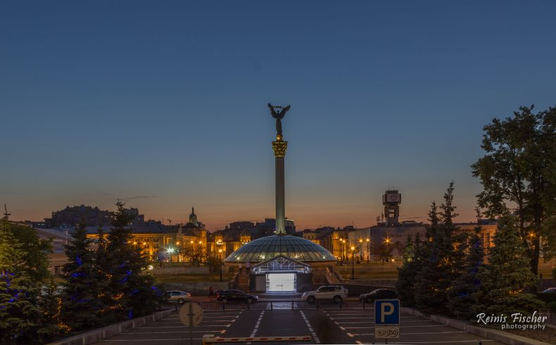 Independence square in Kiev