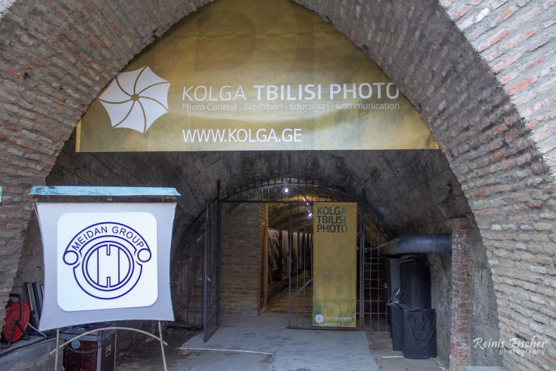 Kolga Tbilisi Photo tunnel