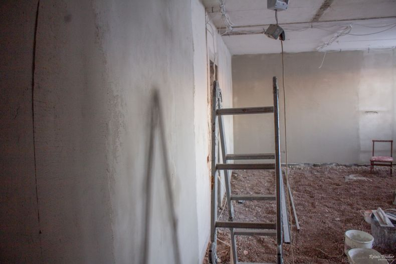 Vilgāle apt renovation works