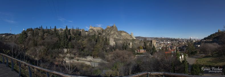 Panoramic photo from Tbilisi