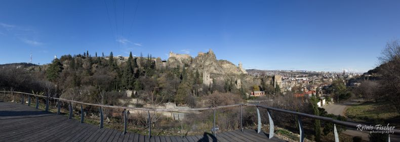 Panoramic photography from Tbilisi