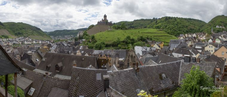Panoramic view of Cochem