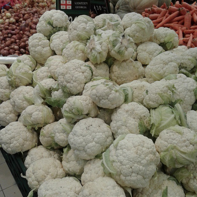 Vegetables at Tbilisi Mall (Carrefour)
