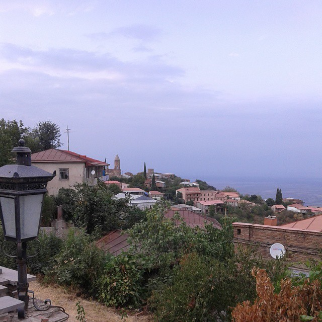 View to Sighnaghi town